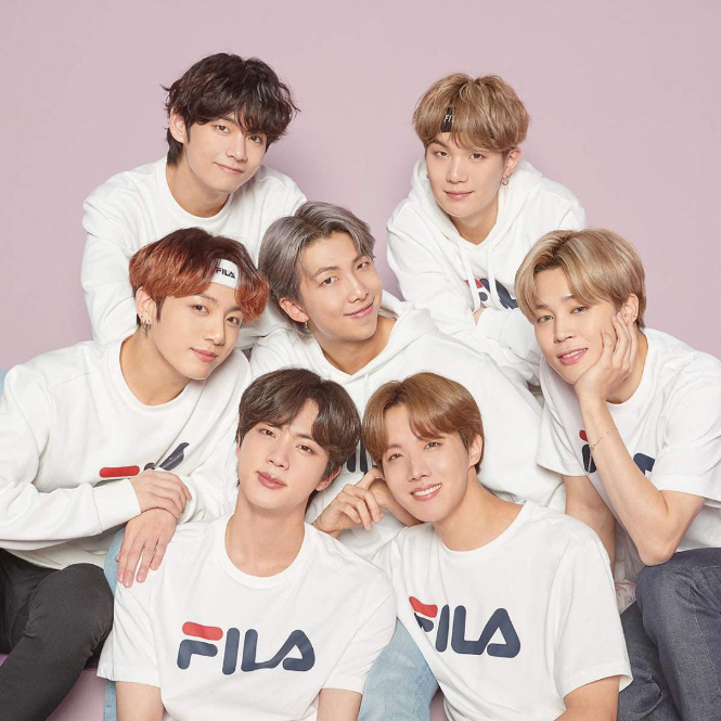 FILA (フィラ) x BTS (防弾少年団)